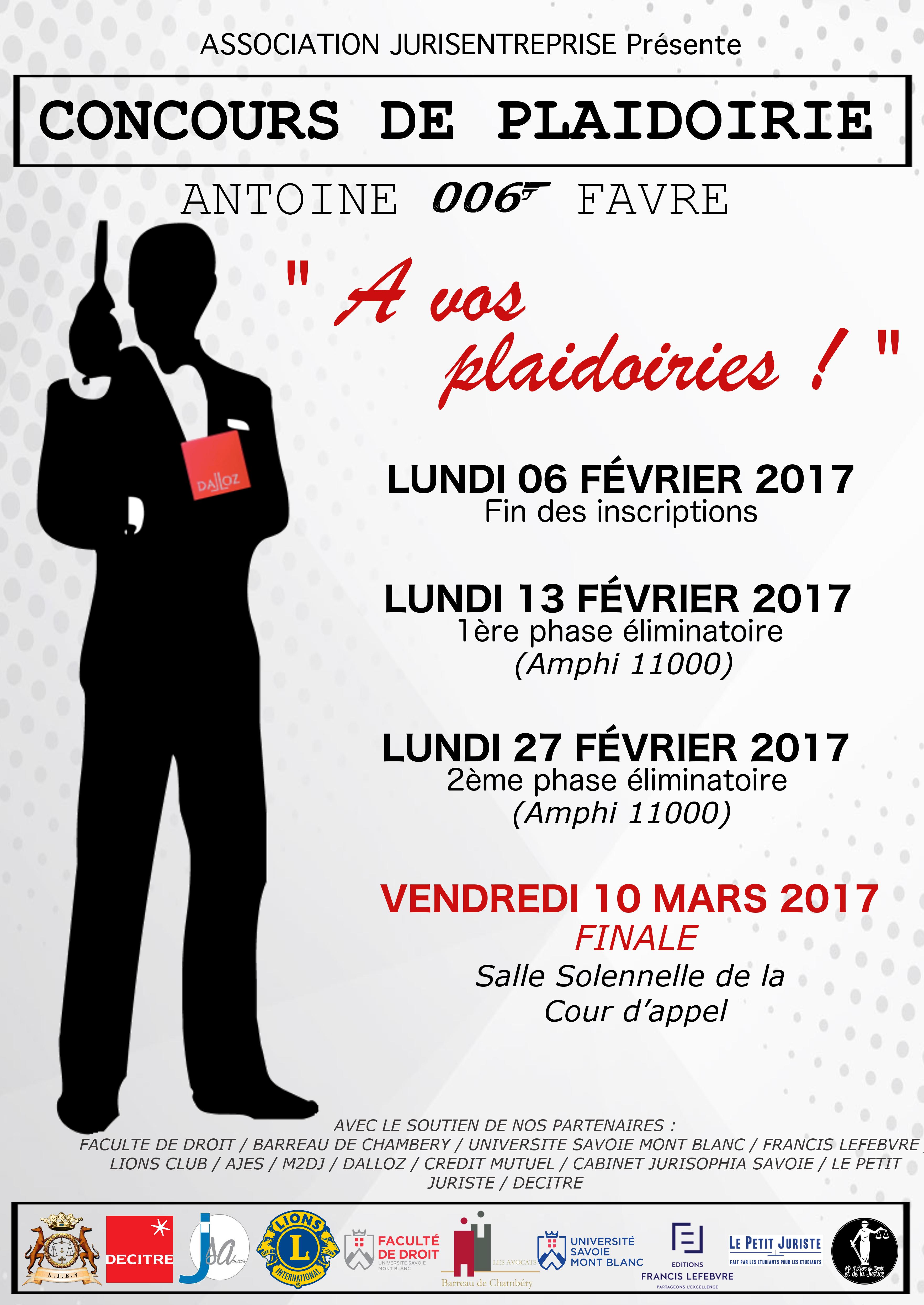 Concours plaidoirie 6e édition