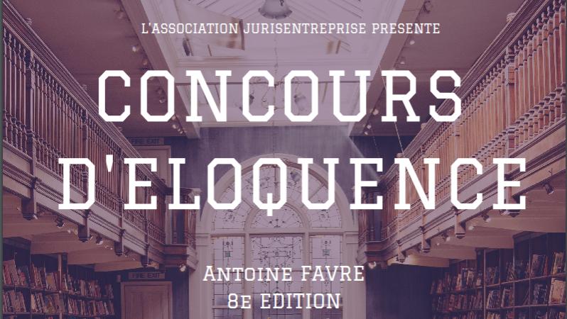 Concours d'éloquence 8ème édition
