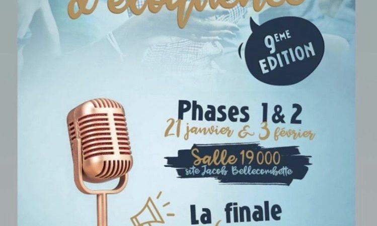 9ème édition du Concours d'éloquence Antoine Favre