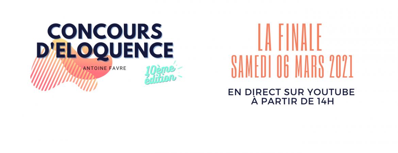 La Finale du Concours d'Eloquence Antoine Favre 2021